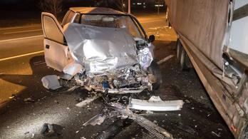 Elszabadult pótkocsi okozott súlyos balesetet