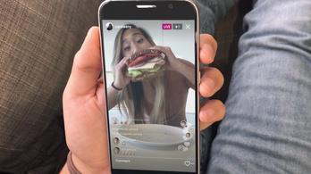 Snapchatesedik az Instagram