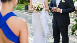 A vőlegény szeretője botrányt csapott az esküvőn