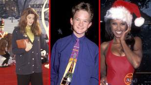 90-es évek, karácsony és celebek? Lehet ennél bármi viccesebb?