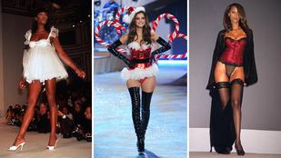 Mindig tökéletes testű modellekkel dolgozott a Victoria's Secret