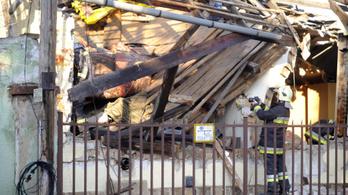 Hatalmas robbanás egy újpesti családi házban