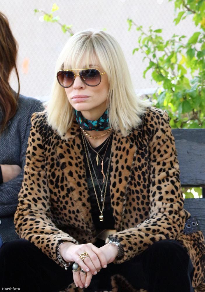 Cate Blanchett általában ezzel az arckifejezéssel látható.