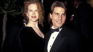 Nicole Kidman első látásra szerelmes lett Tom Cruise-ba