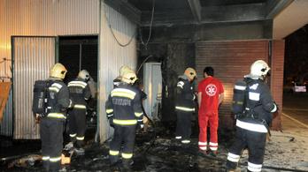 Gyújtogatás volt Budapesten, egy ember meghalt