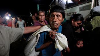 Erős földrengés volt Nicaraguánál