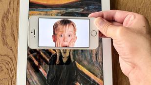 Új értelmet nyernek a klasszikusok, ha beléjük fotózunk egy celebet