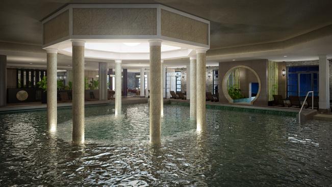142 szobás vizes rezidencia nyílt Bükfürdőn
