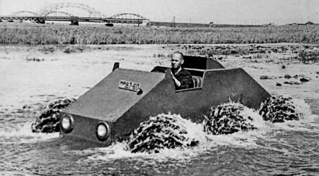 Vízi teszteken a ZISZ-E134
