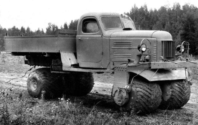 ZIL-132C (1964) - Nem igazán tűnik stabilnak