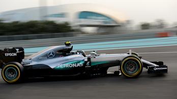 Hamilton a legjobbkor vitte a pole-t Abu-Dzabiban