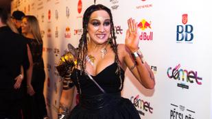 Tóth Gabi futurisztikus indián lány lett a Cometen