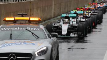 Újabb halálra ítélt ötletet fogadott el az F1