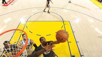 Nem kellett sok Durantnek, hogy történelmet írjon a Warriorsban