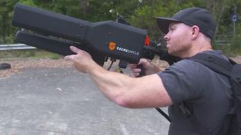 Feltalálták a drónszelídítő puskát