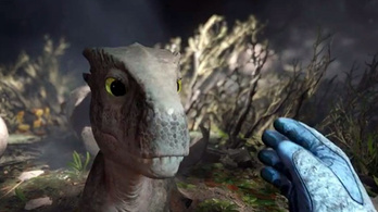Bébi T-rex, hánynom kell
