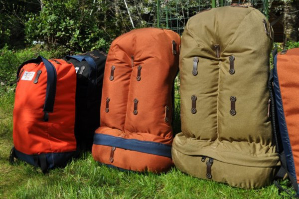 A Rivendell Mountain Works táskáin inkább funkcionális feladatokat lát el.