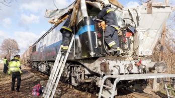 Nyúli vonatbaleset: meghalt a tolatásvezető