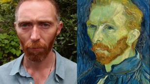 Ez az ember egy az egyben úgy néz ki, mint Van Gogh