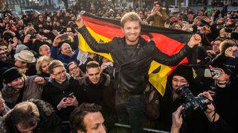Nico Rosberg szülővárosában ünnepelt
