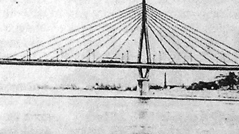 Olimpia még nincs, de tt az új budapesti olimpiai híd