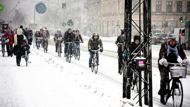 Koppenhága lett a bringások igazi Mekkája