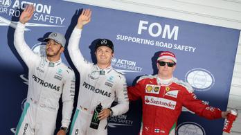 Räikkönen megvédte Rosberget