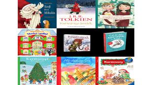 Gyerekkönyvek, amikkel el lehet ütni az időt karácsoinyig