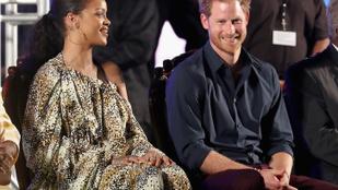 Ilyen az, amikor Harry herceg és Rihanna találkozik
