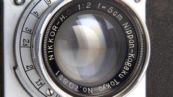 Eladták a világ legrégibb Nikon fényképezőgépét