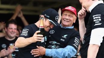 Fura kiszólások Laudától a Rosberg-sikerről