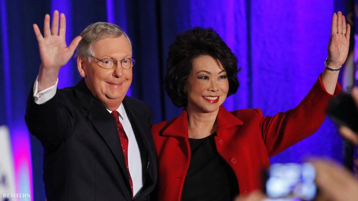 Mitch McConnell és Elaine Chao