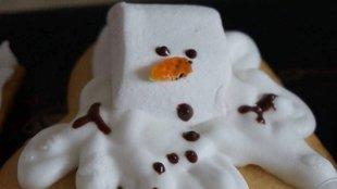Olvadó hóemberek!