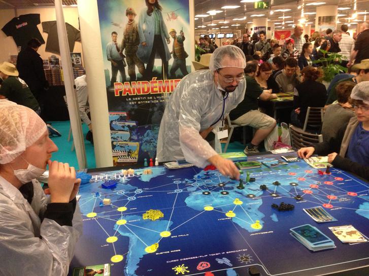 Pandemic-party Franciaországban