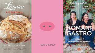 6 gyönyörű, új, magyar szakácskönyv ajándékba