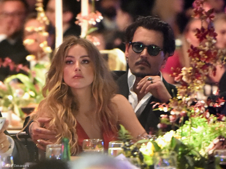 Amber Heard és Johnny Depp