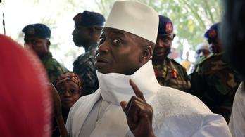 Gambia diktátora elvesztette a választást, de nem akar távozni, most szükségállapotot hirdet