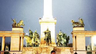 Instahíradó: Egy férfi szereti Magyarországot