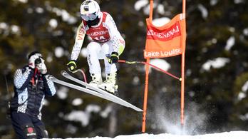 Óriási siker: Miklós Edit harmadik lett lesiklásban Lake Louise-ban
