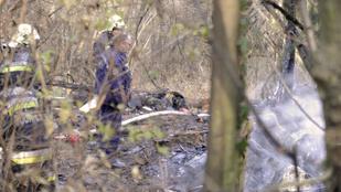 Holttestet találtak egy kiégett óbudai faház romjai között