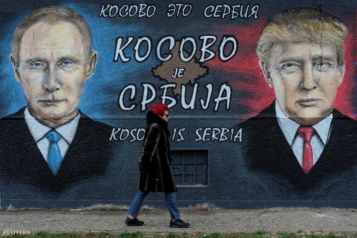 Putyin és trump Belgrádban
