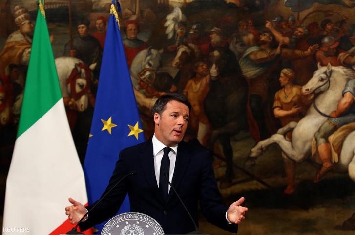 Renzi bejelenti lemondását a népszavazási vereség után.