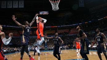 Jordan 27 éves rekordját állította be Westbrook