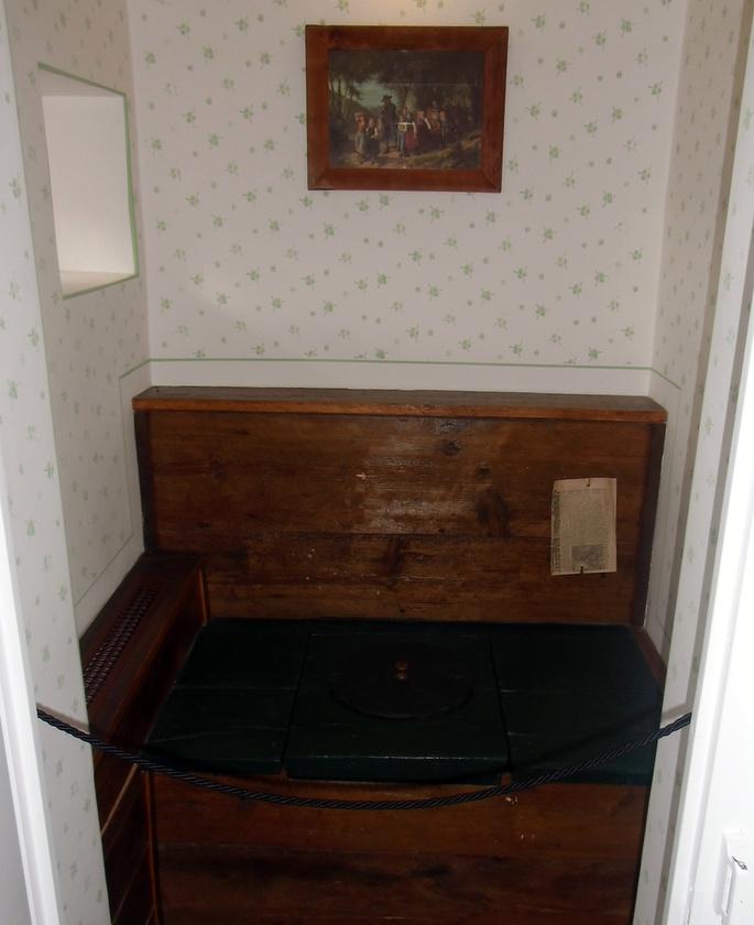 A múzeum fénypontja a pottyantós vécé