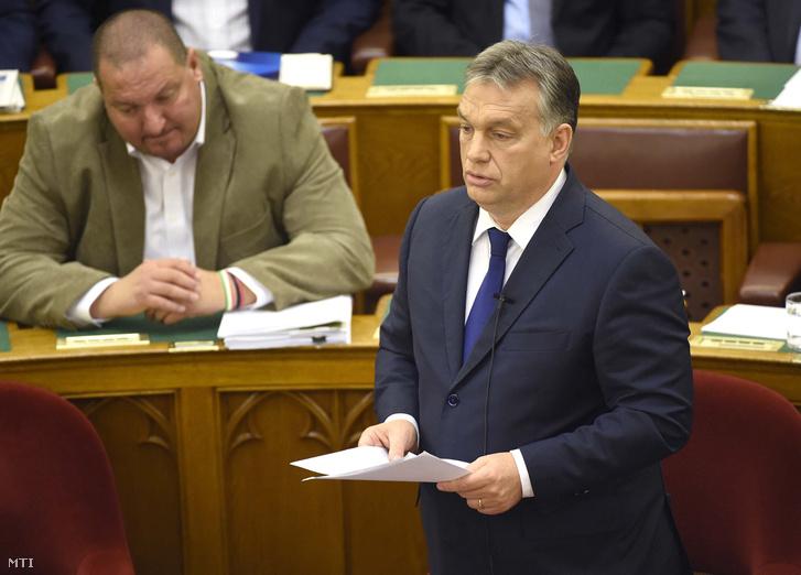 Németh Szilárd és Orbán Viktor