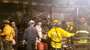 Legalább 36 halottja volt az oaklandi tűznek