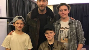 Cruz Beckham váratlanul megérkezett az Instagramra