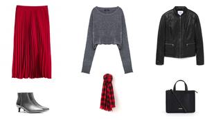 Heti kedvenc: piros szoknya négyszer