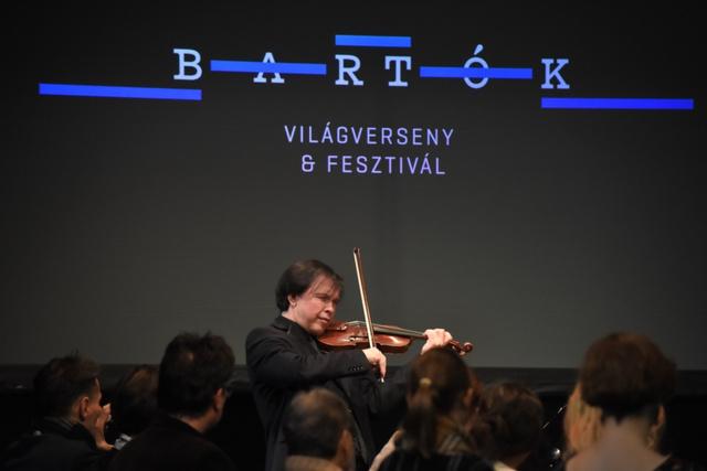 Szabadi Vilmos a Bartók Világverseny és Fesztivál sajtótájékoztatóján