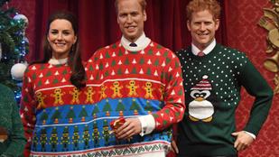 Egyetlen kép, amin keveredik a karácsony, Harry herceg, a giccs és a vicc